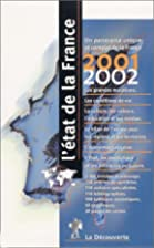 L'Etat De La France: 2001-2002 (French…