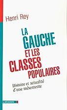 La gauche et les classes populaires :…