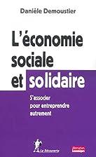 L'économie sociale et solidaire…