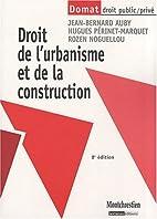 Droit de l'urbanisme et de la construction…