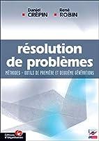 Résolution de poblèmes by Daniel Crépin
