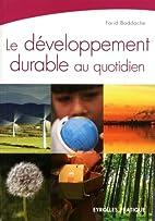 Le développement durable au quotidien by…
