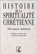 Histoire de la spiritualité…