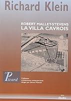 La villa Cavrois (French Edition) by Richard…