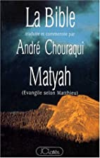 Matyah. O Evangelho segundo Mateus. by…