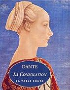 La Consolation by Dante Alighieri