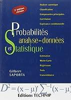 Probabilites Analyse des Données et…