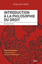 Introduction à la philosophie du…