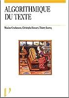 L'algorithme du texte by Maxime…