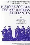 Roger Chartier: les universites europeennes t.1