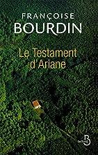 Le testament d'Ariane by Françoise…