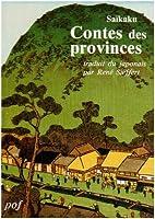 Contes des provinces by Saikaku Ihara