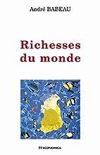 Richesses du monde by André Babeau