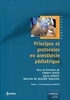 Principes et Protocoles en Anesthesie…