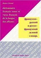 Dictionnaire français-russe et…