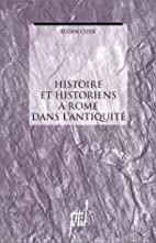 Histoire et historiens a Rome dans…