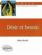 Désir et besoin by Robert Misrahi