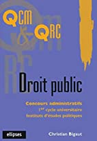 Droit public by Christian Bigaut