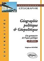 Géographie politique &…