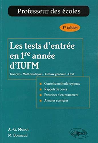 les-tests-dentree-en-1re-annee-diufm-francais-mathematiques-culture-generale-oral