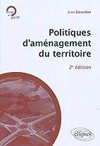 Politiques d'aménagement du territoire by…