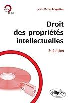 Droit des propriétés intellectuelles…