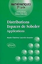 Distributions, espaces de Sobolev:…