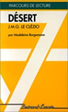 Désert: J. M. G. Le Clézio by Borgano…