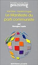 Le Manifeste du Parti Communiste - Parcours…