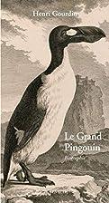 Le grand pingouin: pinguinus impennis, -500…