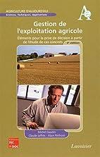 gestion de l'exploitation agricole…