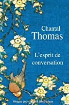 L'esprit de conversation (French…