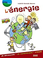 L'énergie by Isabelle Ramade-Masson