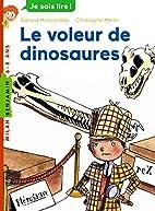 Le voleur de dinosaures by Gérard Moncomble