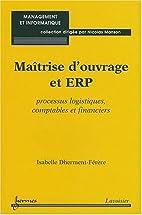 Maîtrise d'ouvrage et ERP : Processus…