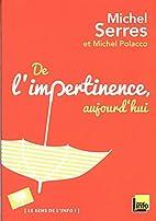 De l'impertinence, aujourd'Hui by…