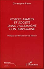 Forces armees et societe dans…