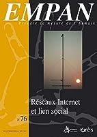 Empan, N° 76 : Réseaux internet et lien…
