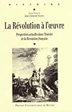 REVOLUTION A l'OEUVRE by Jean-Clément…
