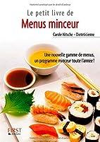 Menus minceur by Carole Nitsche