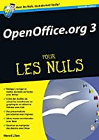 OpenOffice.org 3 pour les nuls by Henri…