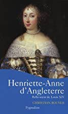 Henriette-Anne d'Angleterre :…