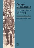 George Desvallières: correspondance…