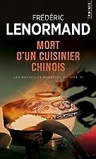 Mort d'un cuisinier chinois by Frédéric…