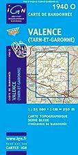 Valence (Tarn et Garonne) 1940 O