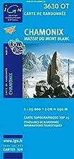 Chamonix, Mont-Blanc ~ IGN Top25 3630OT 2012…