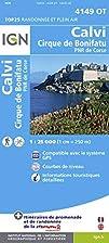 4149OT CALVI/CIRQUE DE BONIFATU by IGN