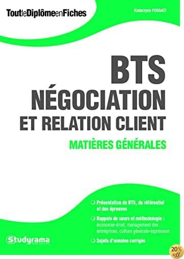 BTS Négociation et relation client : Matières générales