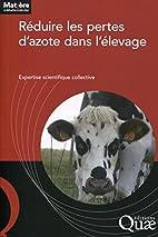 Réduire les pertes d'azote dans l'élevage…