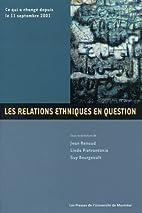 Les Relations ethniques en question : Ce qui…